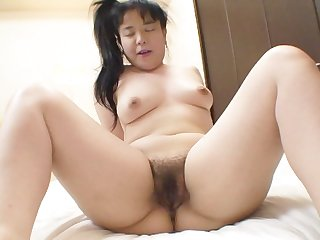 Chubby Japanese secretary gets a creampie