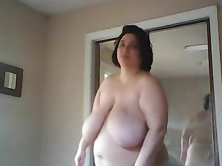 Solo bbw Dance video