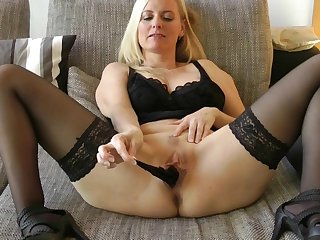 Panty in my MILF Pussy - Refine my Panty for you - you want it?