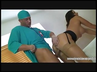 Dirty Doctor fills hot Milf Carly Cum Slut's tight pussy with spunk