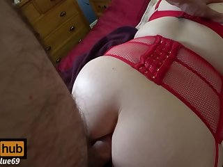 Fucking the Foxy Lady for Valentine's Day - Filthy Anal Sex, Gapes and Cum